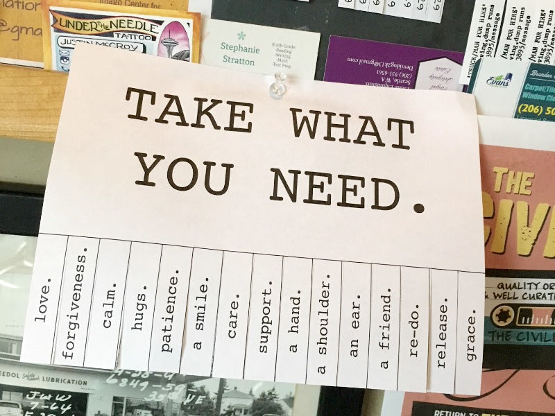 photograph about Take What You Need Printable identified as Acquire What Oneself Require Tags Satsuma Options