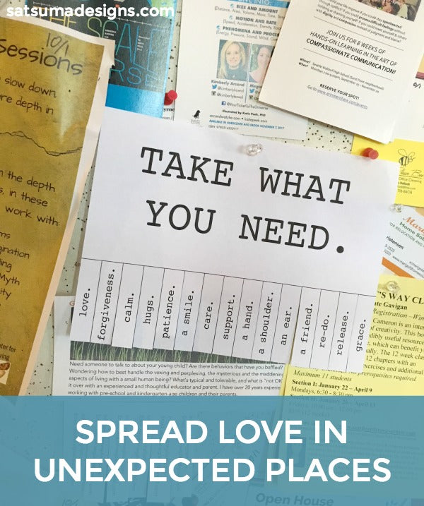 photograph about Take What You Need Printable named Choose What Yourself Want Tags Satsuma Models