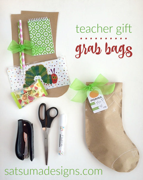 teacher gift grab bag