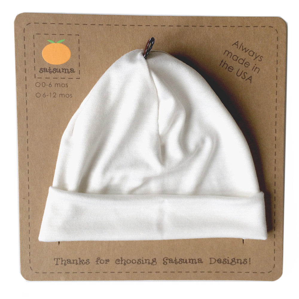 Bamboo Jersey Baby Hat