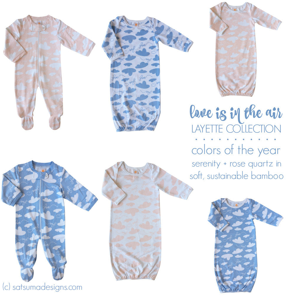 Baby Gown Love Is In The Air Collection Satsuma Designs