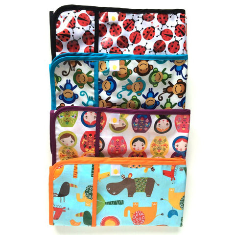 Kids Art and Splat Mat for art table coverings and under high chairs