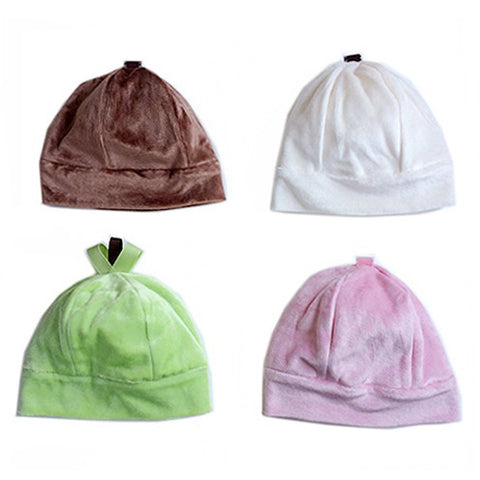 Bamboo Velour Beanie Style Baby Hat