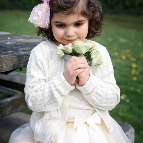 flower girl skirt | tulle skirt | wedding party clothes