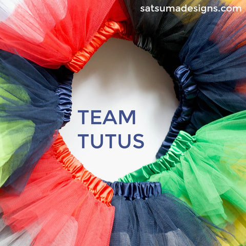 NFL and College football team tutus