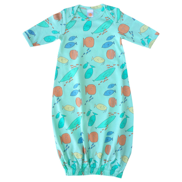 Organic Infant Gown 1