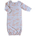 Baby Gown - Love is in the Air Collection | SatsumaDesigns.com #layette #babygift