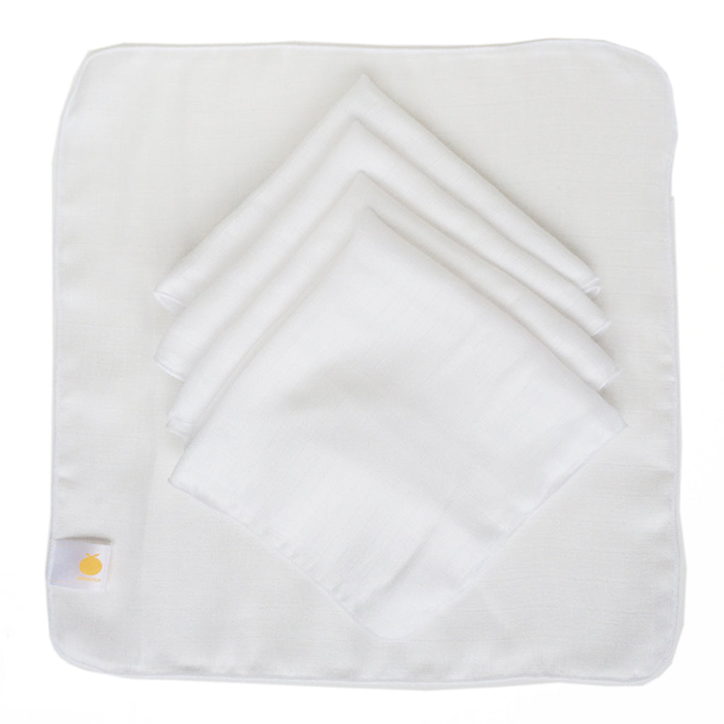 Bamboo Muslin Washcloths | 5 Pack