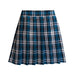 Plaid Knife Pleated Skirt
