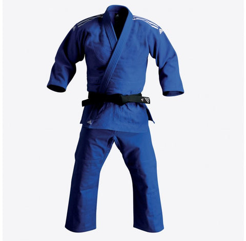 adidas Judo Contest Gi (19oz) - Blue