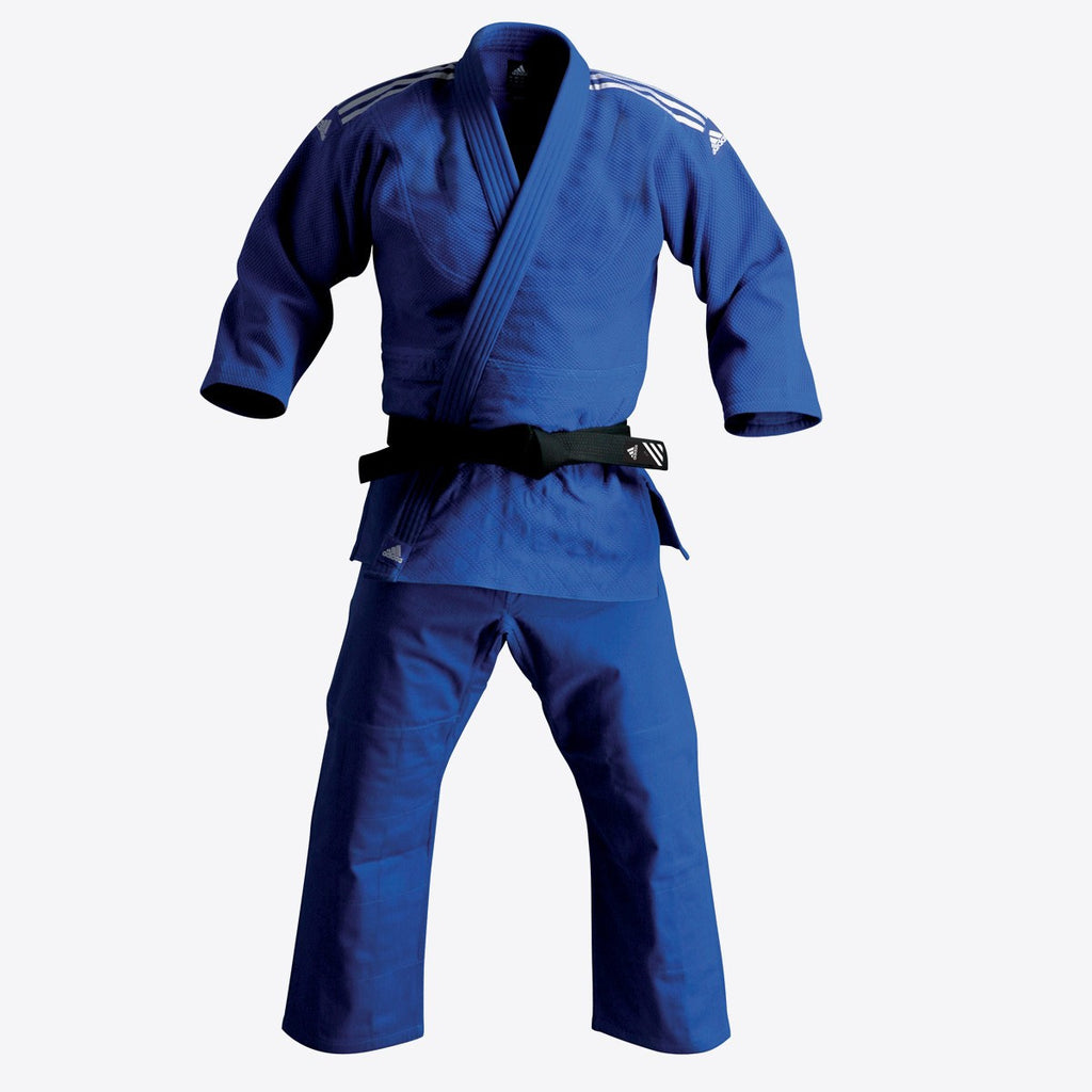 adidas Judo Elite Gi (22oz) - Blue