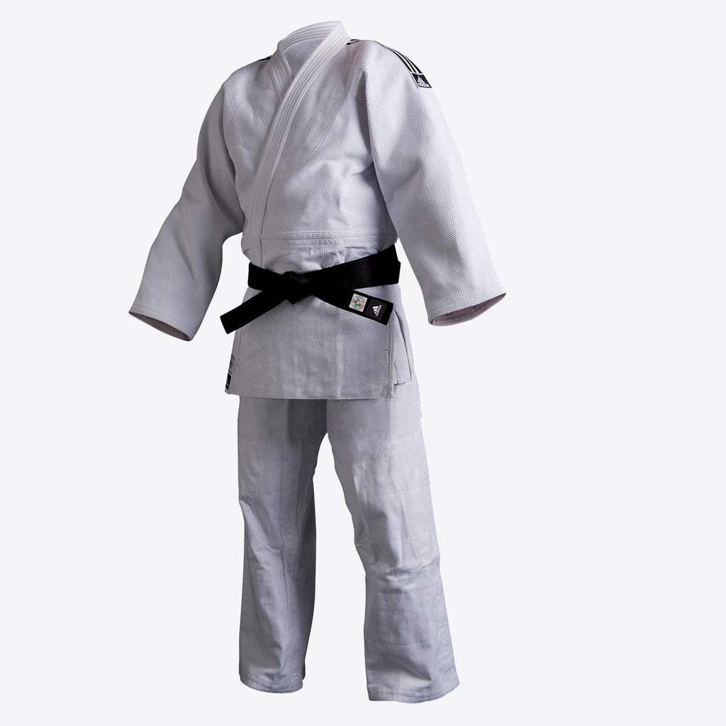 adidas Judo Elite Gi (22oz) - White