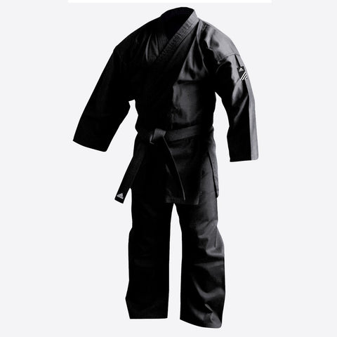 adidas Karate Black Training Gi - American cut
