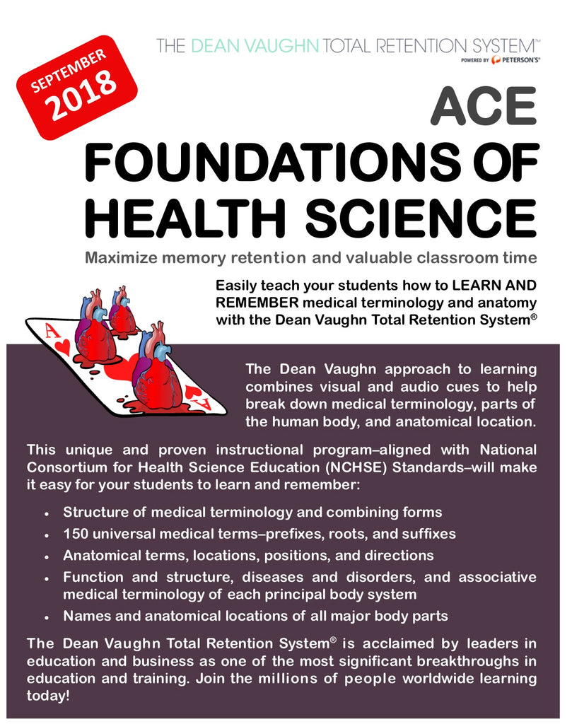 Foundations of Health Science - Online Course
