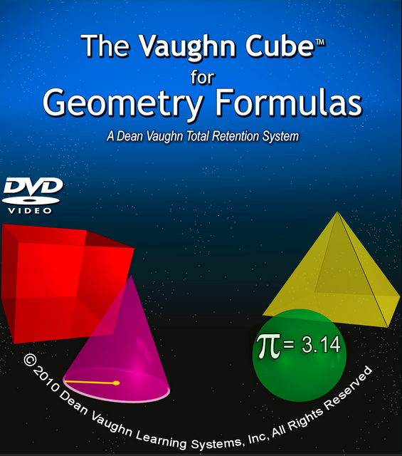 The Vaughn Cube™ for Geometry Formulas