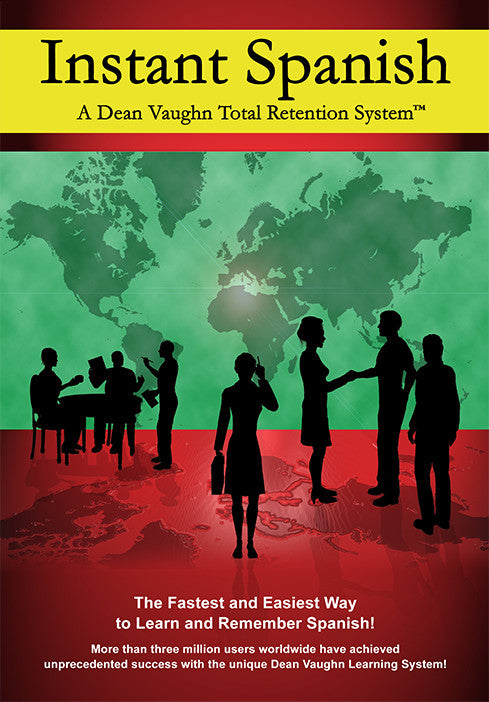 Instant Spanish – Dean Vaughn Total Retention System™