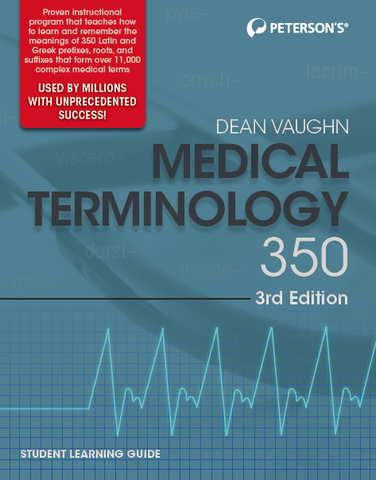 Medical Terminology 350, 3rd Edition - Online Course & Student Learning Guide Bundle