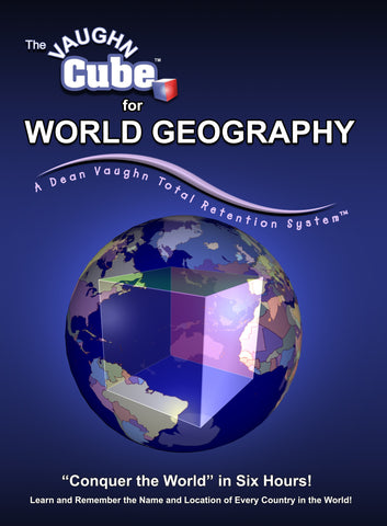 The Vaughn Cube™ for World Geography