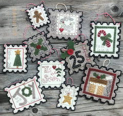 Special Delivery Stamp Christmas Ornament Kit