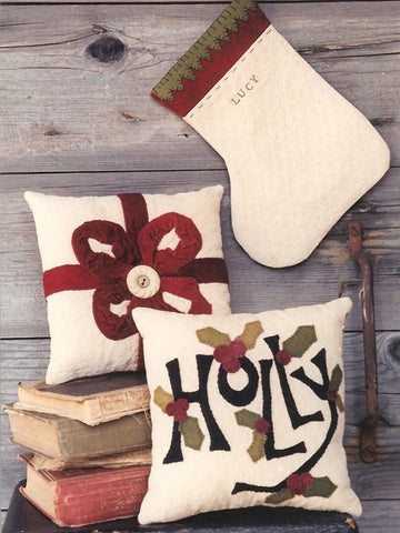 Christmas Pillows and Sock