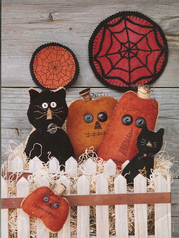 Black Cat, Orange Pumpkin
