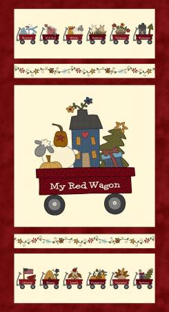 My Red Wagon / Banner Panel
