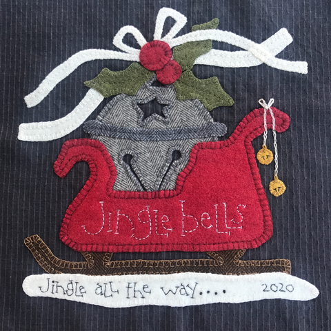 JINGLE BELLS KIT AND PATTERN