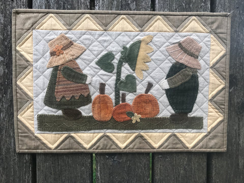 Autumn Sunbonnet Siblings