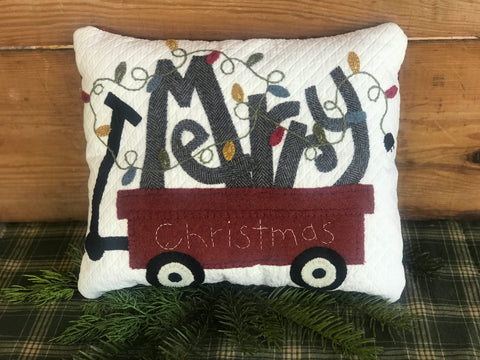Merry Christmas Lighting Pillow Kit
