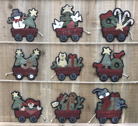 #1804 Christmas Wagons