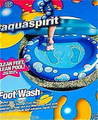 AQUASPIRIT FOOT WASH - CLEAN FEET, CLEAN POOL!