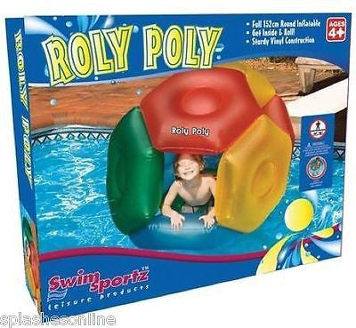 SWIM SPORTZ ROLY POLY ADVENTURE BALL - 107CM DIA - AGES 4+