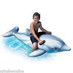INTEX LARGE SIZED DOLPHIN RIDE ON 201CM LONG
