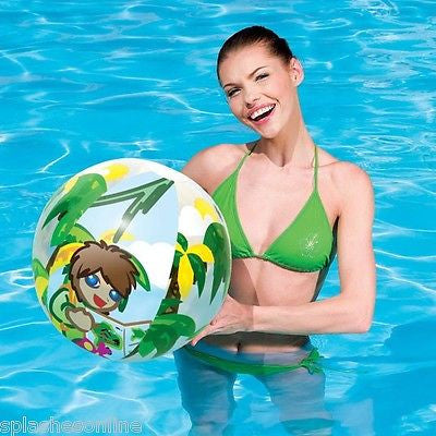 BESTWAY JUNGLE TREK BEACH BALL 51CM