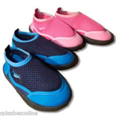 SWIMSAFE BEACH SHOES - PINK OR BLUE - SM, MED & LARGE - KIDS SIZES