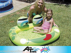 AIRTIME FROG BABY POOL  - FROGS EYES MAKE BELL SOUND
