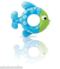 INTEX SWIM ALONG FISH RINGS  - AGES 3-6 YEARS - BLUE OR PINK