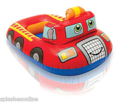 INTEX KIDDIE FLOAT - LIL FIRE ENGINE - W/LEG HOLES - AGES 1+