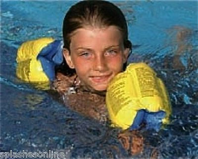 AQUAFUN DELUXE ARM BANDS WITH BUCKLE  FOR AGES 3-6 YEARS