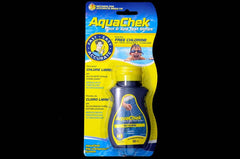 AQUACHEK YELLOW TEST STRIPS - FREE CHLORINE/pHTA/CYANURIC