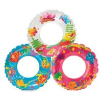 INTEX PRINT SWIM RING 61CM
