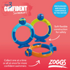 ZOGGS ZOGGY DIVE RINGS, FLEXIBLE, SET OF 3