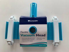 LINCOLN FLEXIBLE DELUXE VACUUM HEAD - MANUAL VACUUM 30CM