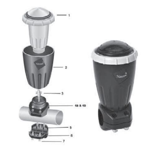 ZODIAC NATURE 2 EXPRESS PURIFIER / SPARE PARTS