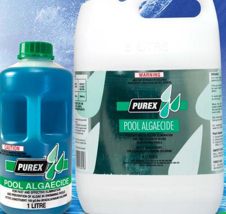 PUREX POOL ALGAECIDE 5LT (LOCAL DELIVERY ONLY)