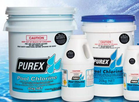 Purex Pool Chlorine Lowest Residue Local Delivery Only