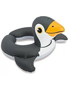 INTEX SPLIT SWIM RING - PENGUIN - AGES 3-6 YEARS