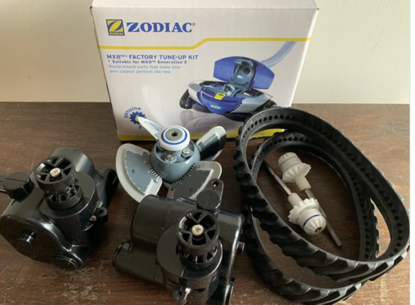 ZODIAC MX6 POOL CLEANER SPARE PARTS