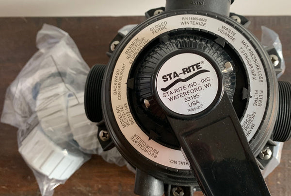 PENTAIR STA-RITE CRISTALFLO II SAND FILTER SPARE PARTS