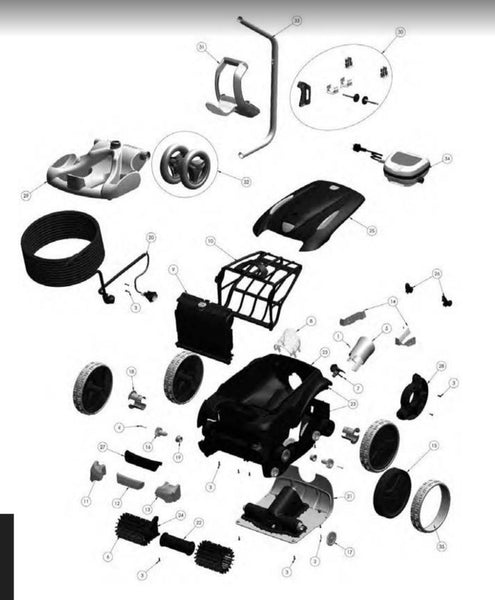 Zodiac V3 4wd Pool Cleaner Spare Parts Www